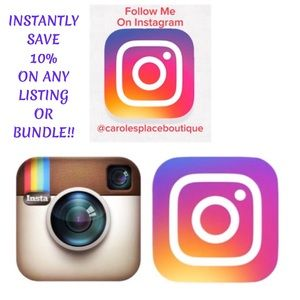 10% Off Any Listing or Bundle Follow on Instagram